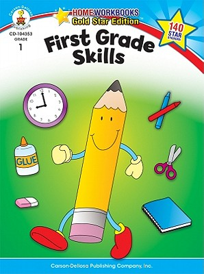 First Grade Skills By Carson-Dellosa Publishing Company, Inc. (COR)